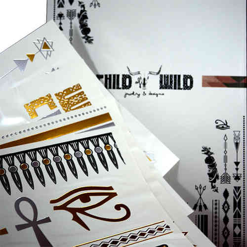 Gold Tattoo-Child Wild korutatuointi
