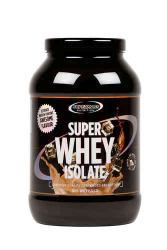 Supermass Nutrition Super Whey Isolate Ice Coffee  1300g