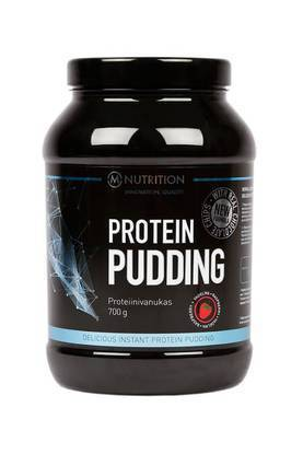 M-Nutrition Protein Pudding Vadelma 700g