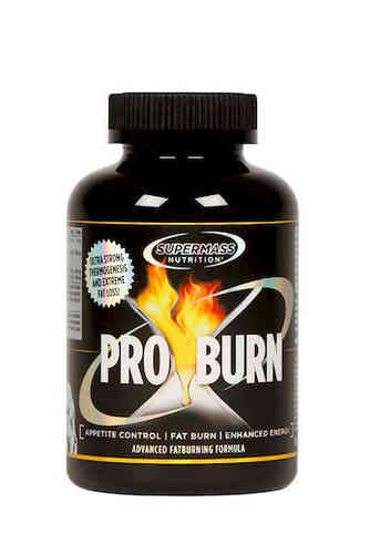 Supermass Nutrition Pro Burn Rasvanpolttaja 180 kaps.