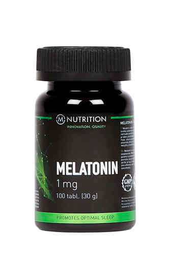 M-Nutrition Melatoniini 1 mg 100 tabl.