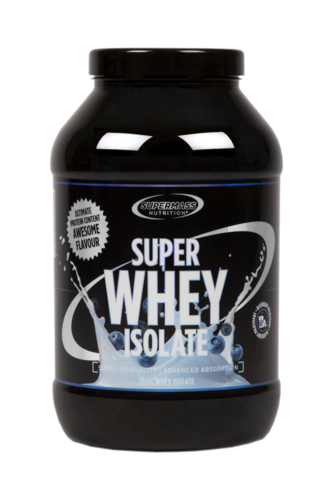 Supermass Nutrition Super Whey Isolate Blueberry-Milkshake  1300g