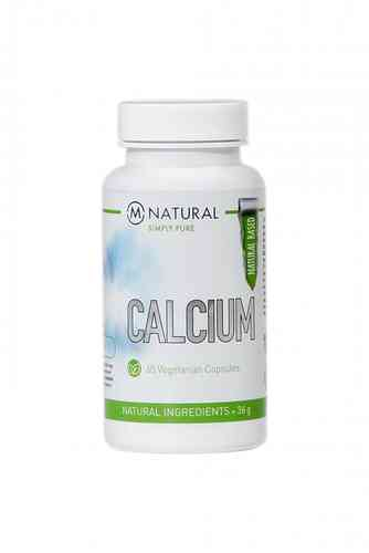 M-Natural CALCIUM 36g, 60 kaps.