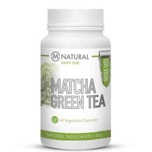 M-Natural Matcha Green Tea, 60 kapselia