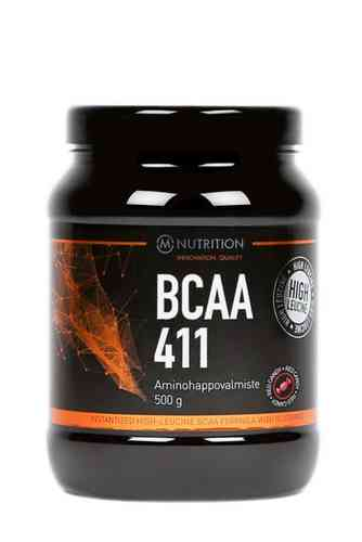 M-Nutrition BCAA 411 Red candy aminohappojauhe 500g