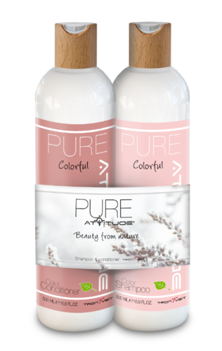 Pure Duo Pack, Colorful shampoo&hoitoaine