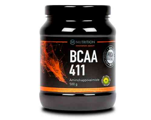M-Nutrition BCAA 411 Sitruuna - Lime 500g