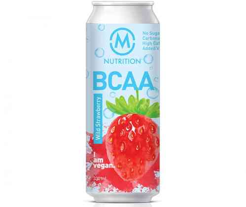 M-Nutrition BCAA Wild Strawberry 330ml