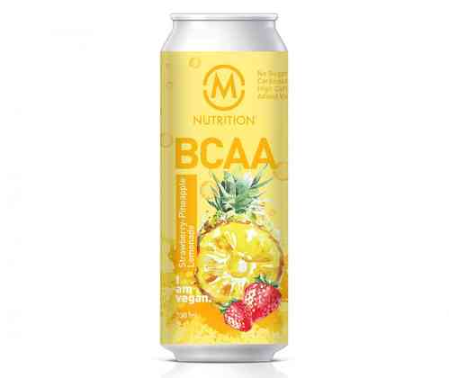 M-Nutrition BCAA Strawberry-Pineapple Lemonade 330ml